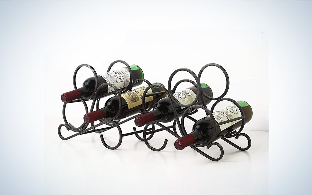 AUTREE Bookend Wine Rack