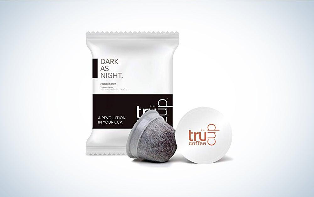 trücup Low Acid Coffee- Dark as Night French Roast