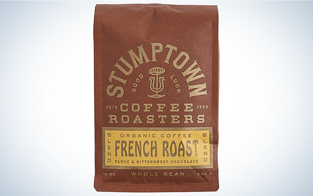 Stumptown Coffee Roasters French Roast Whole Bean Organic Coffee