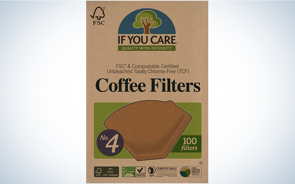 If You Care Unbleached Coffee Filters