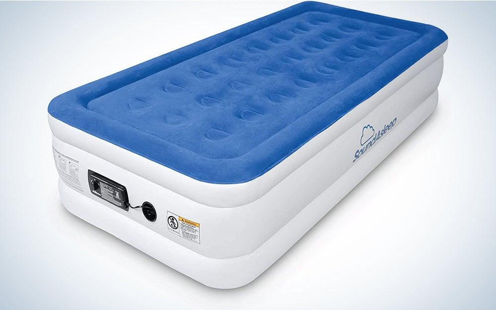 SoundAsleep Dream Series Air Mattress with ComfortCoil Technology & Internal High Capacity Pump (Twin XL)
