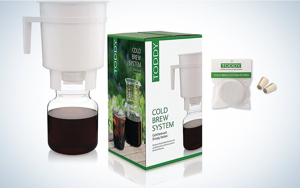 Toddy Cold Brew Coffee Maker System with Extra Filters and Rubber Stoppers Bundle