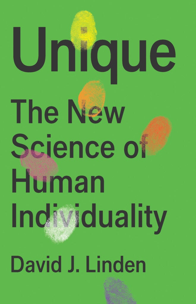 Cover of Unique by David Linden