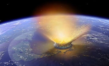 An asteroid didn't kill the dinosaurs by itself. Earth helped.