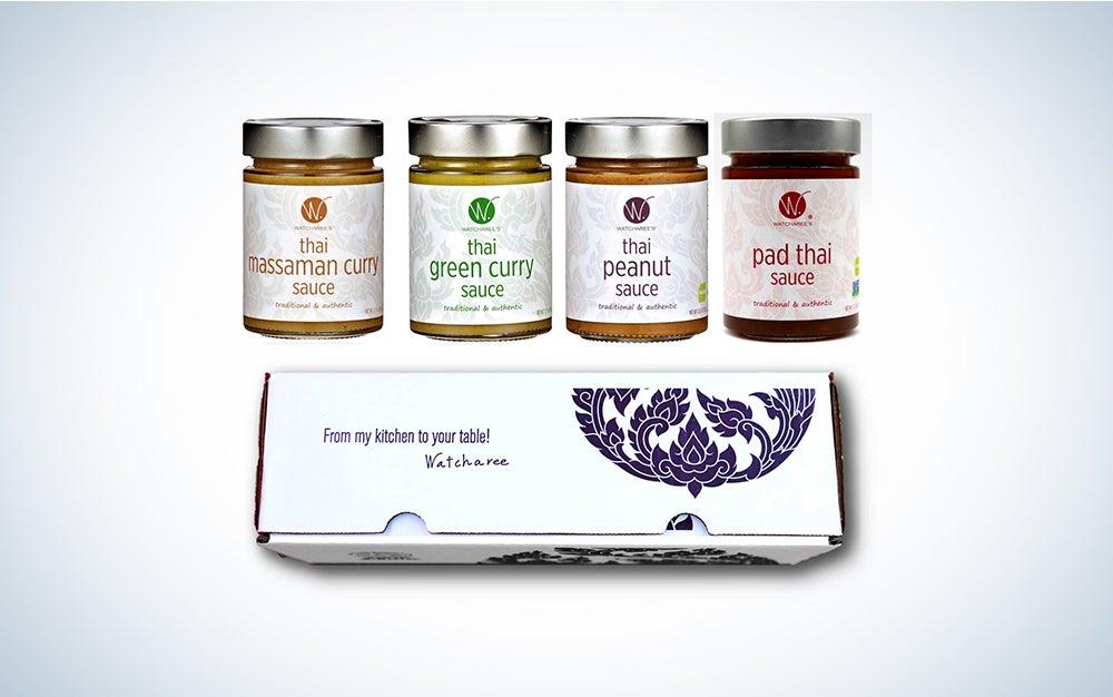 Watcharee's Thai Sauces gift set