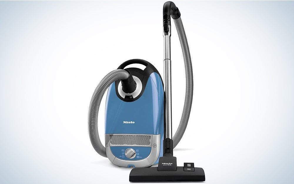 Miele Complete C2 Hard Floor Canister Vacuum Cleaner with SBD285-3 Combination Rug and Floor Tool