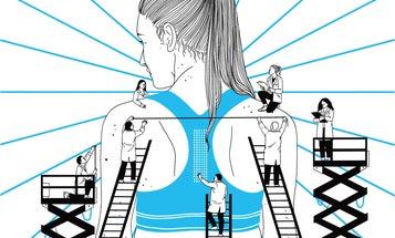 The best sports bra uses non-Newtonian fluid