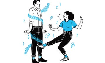 Why some people are bad at dancing