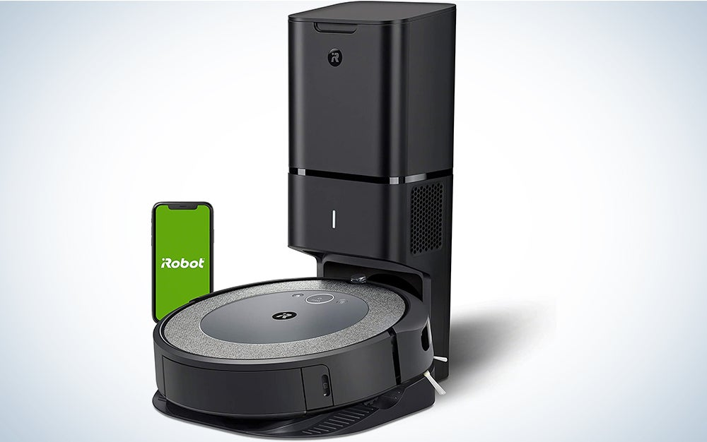 iRobot Roomba i3+ (3550) Robot Vacuum with Automatic Dirt Disposal Disposal - Empties Itself, Wi-Fi Connected Mapping, Works with Alexa,