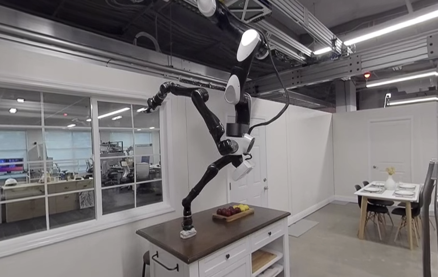 Toyota house robot ceiling