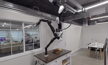 Toyota's robotic butler will serve you from the ceiling