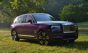 The first Rolls-Royce SUV has tricks that might actually justify its price tag