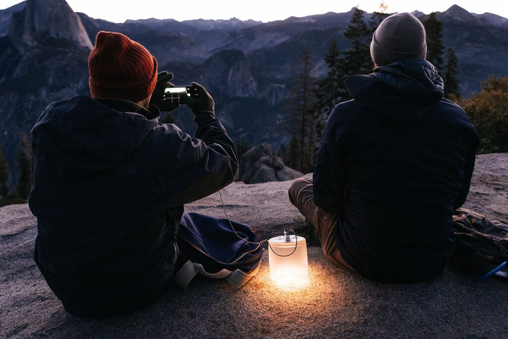 Luci Pro Outdoor 2.0: Solar Inflatable Solar Lantern + Charger (2-Pack)
