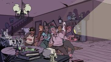 MC Wolfman illustration