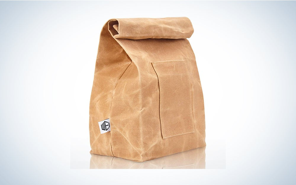Wei Classic Waxed Canvas Lunch Bag