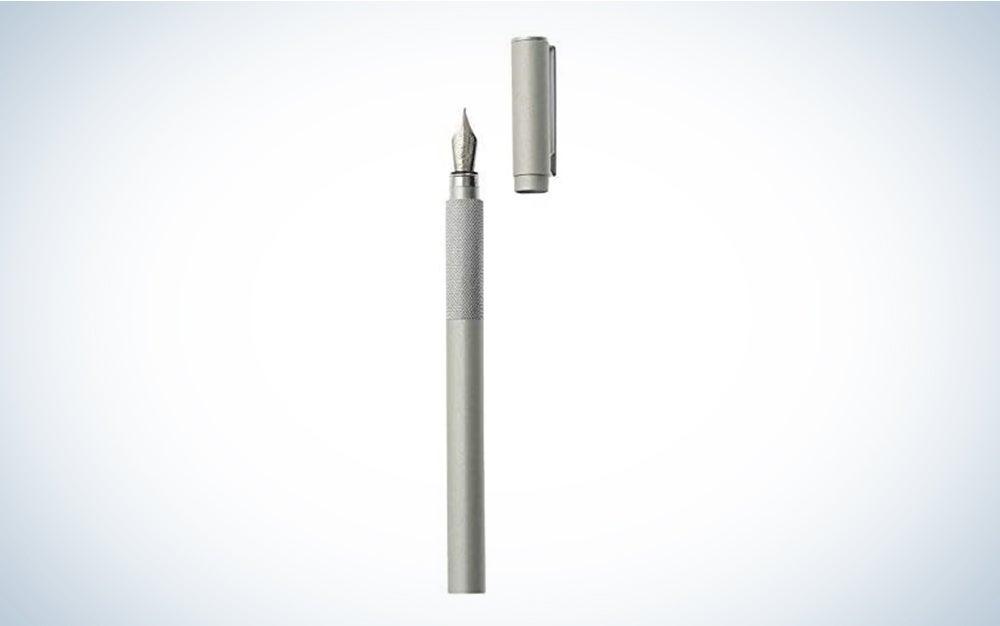 MUJI Aluminum Fountain Pen