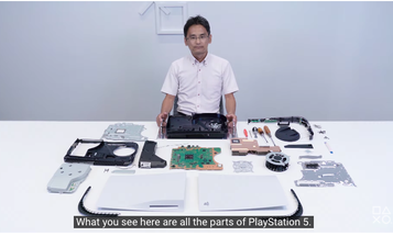 Watch Sony crack open a PS5 console