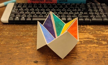 Five classic paper toys you can make when you're bored (whether you're in school or not)