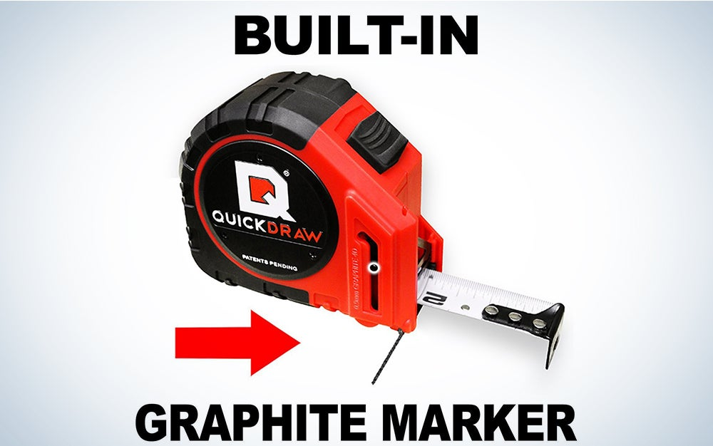 25' Foot QUICKDRAW PRO Self Marking Tape Measure
