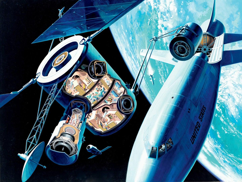 Davis Meltzer's A Space Station