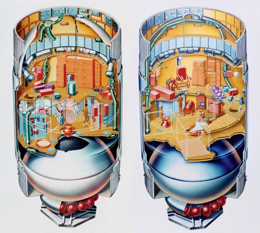 Skylab artists rendering.
