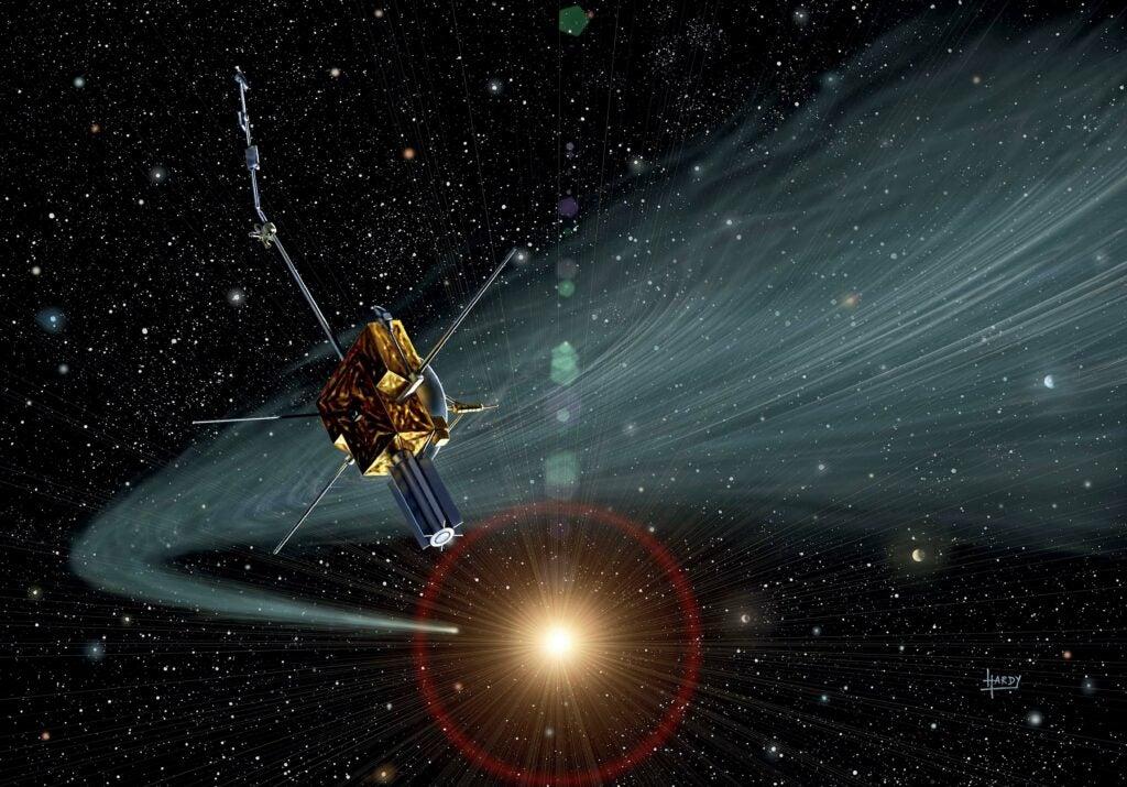 Ulysses space craft