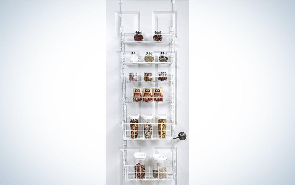 Smart Design Adjustable Pantry Organizer