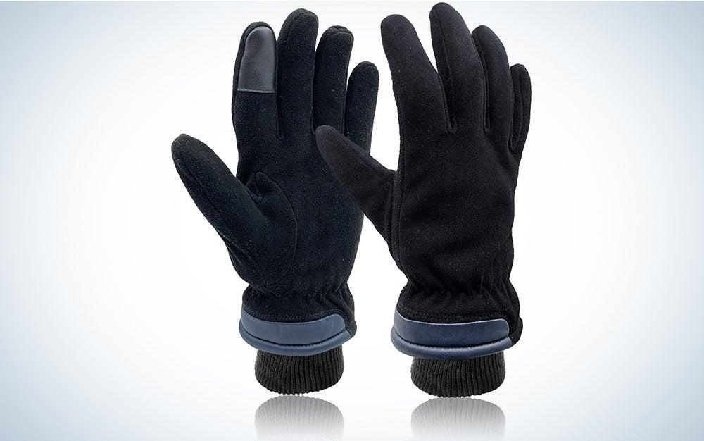 Skydeer Deerskin Suede Leather Gloves