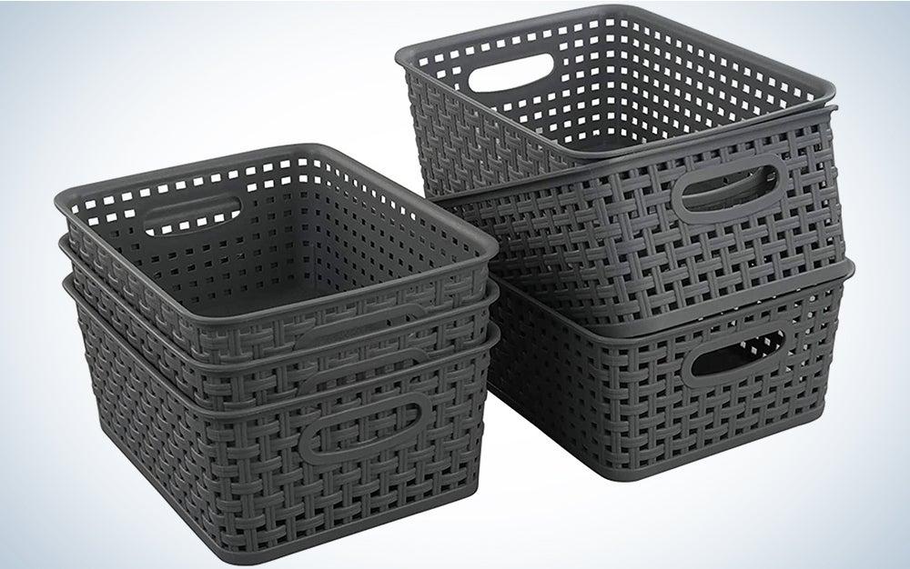 Teyyvn Plastic Storage Basket