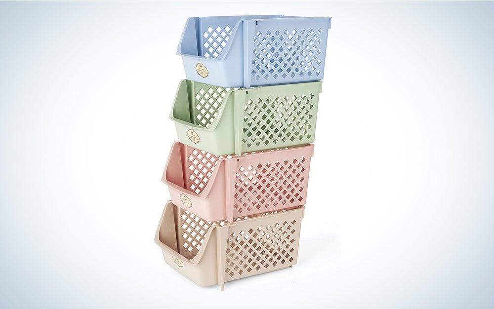 Titan Mall Stackable Storage Bin