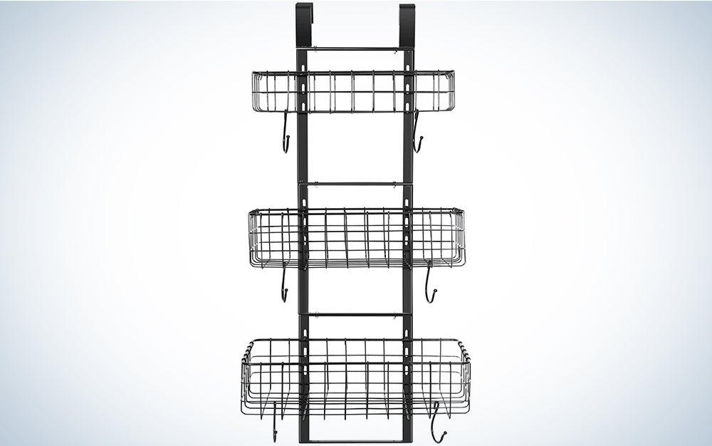 Detachable 3-Basket Over The Door Organizer
