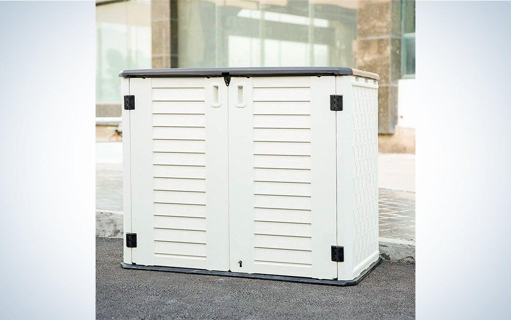 Kinying Horizontal Outdoor Storage Shed