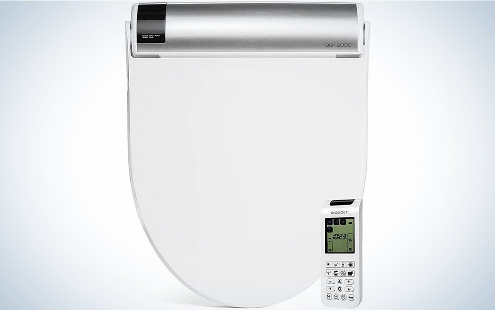 Bio Bidet Bliss BB2000 Elongated White Smart Toilet Seat
