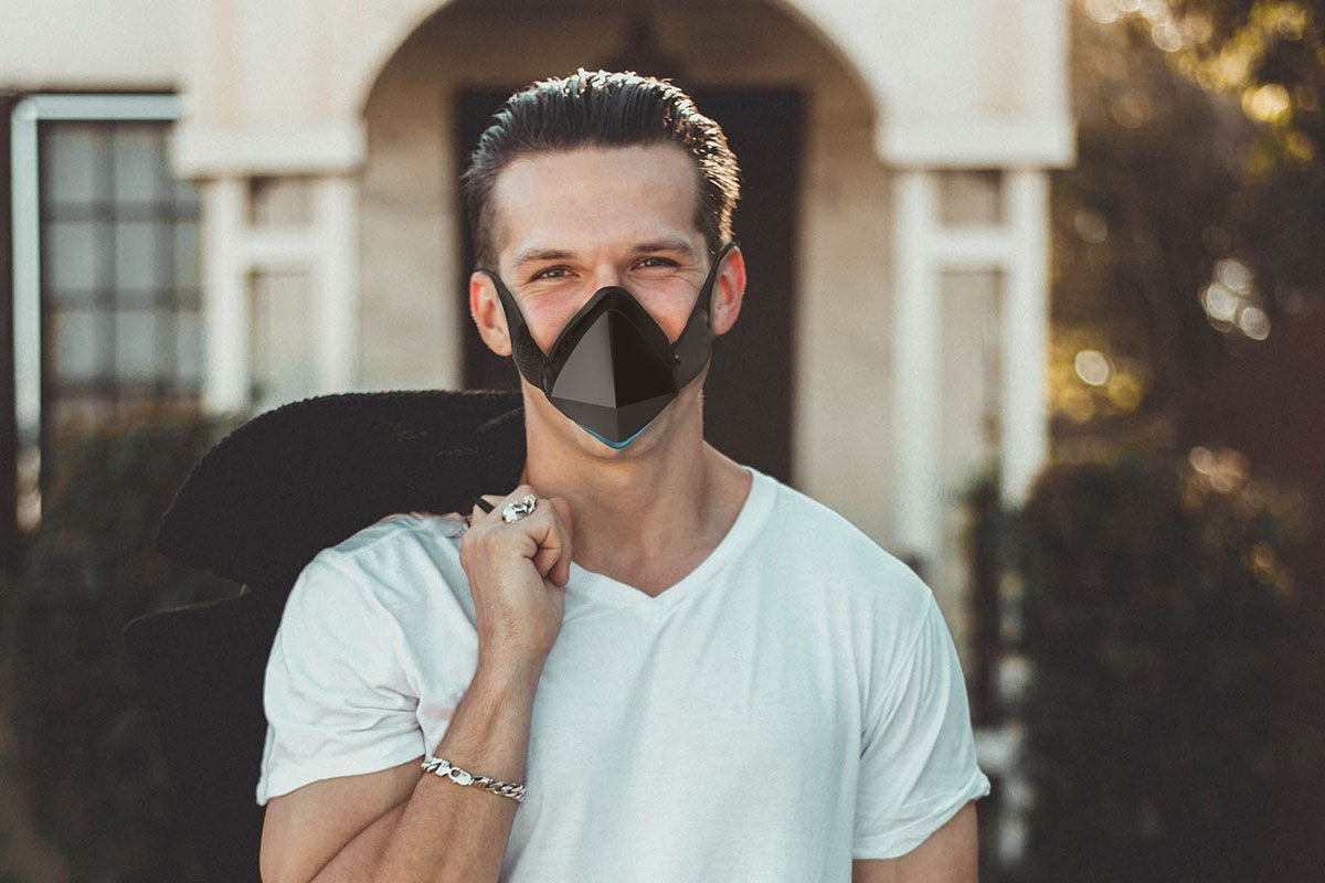The Electric Respirator LED Fan Mask
