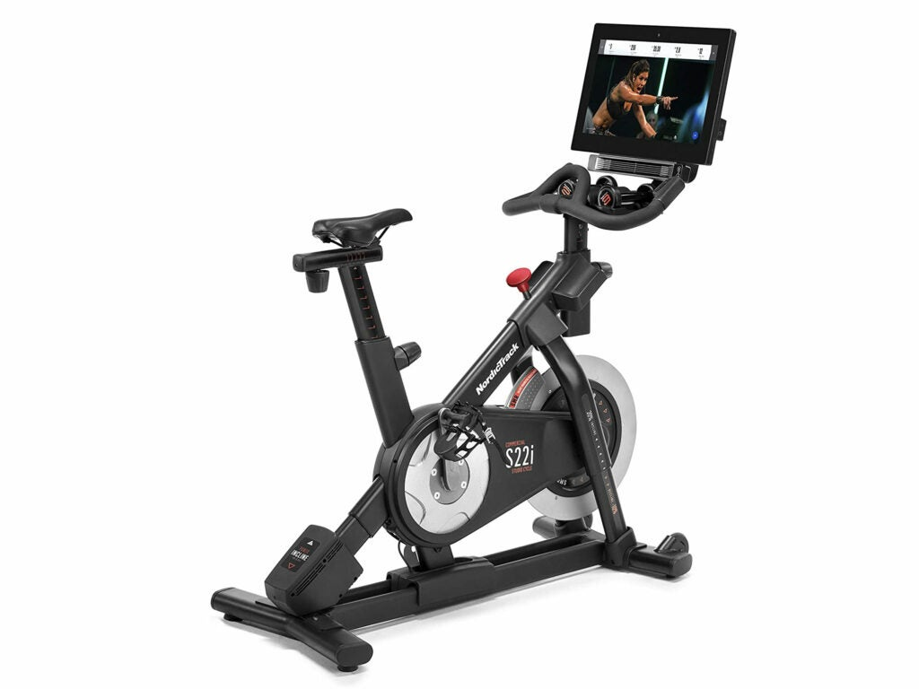 NordicTrack S22i studio cycle review