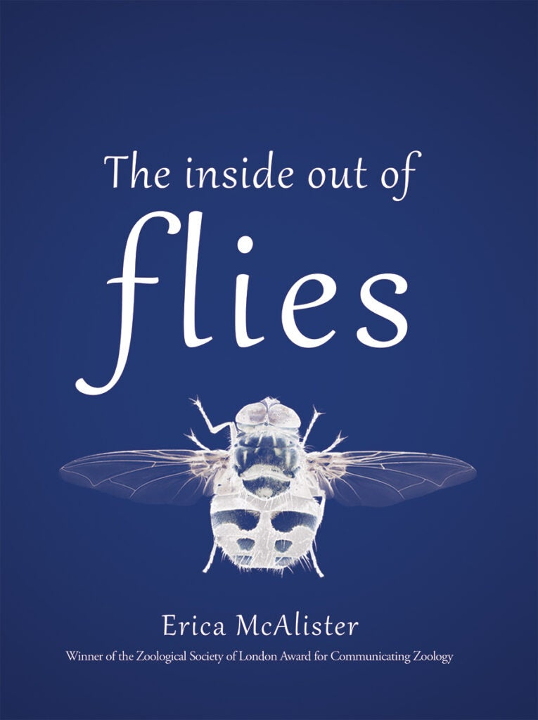 The Inside Out of Flies by Erica McAlister cover