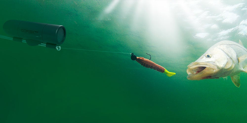The GoFishCam Wireless Underwater Fishing Camera