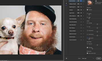 Photoshop's Neural Filters can alter people's expressions in convincing—and nightmarish—ways