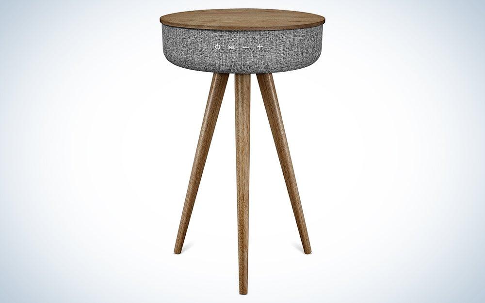 Victrola VS-140-WLN Bluetooth Wood Speaker Stand