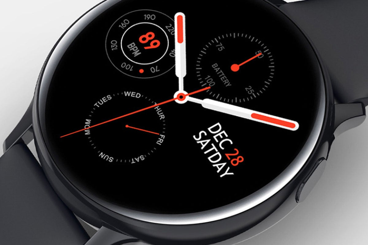 Smart Watch Round Face Health Monitor & Activity Tracker