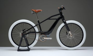Harley's first electric bicycle stands out with its retro style