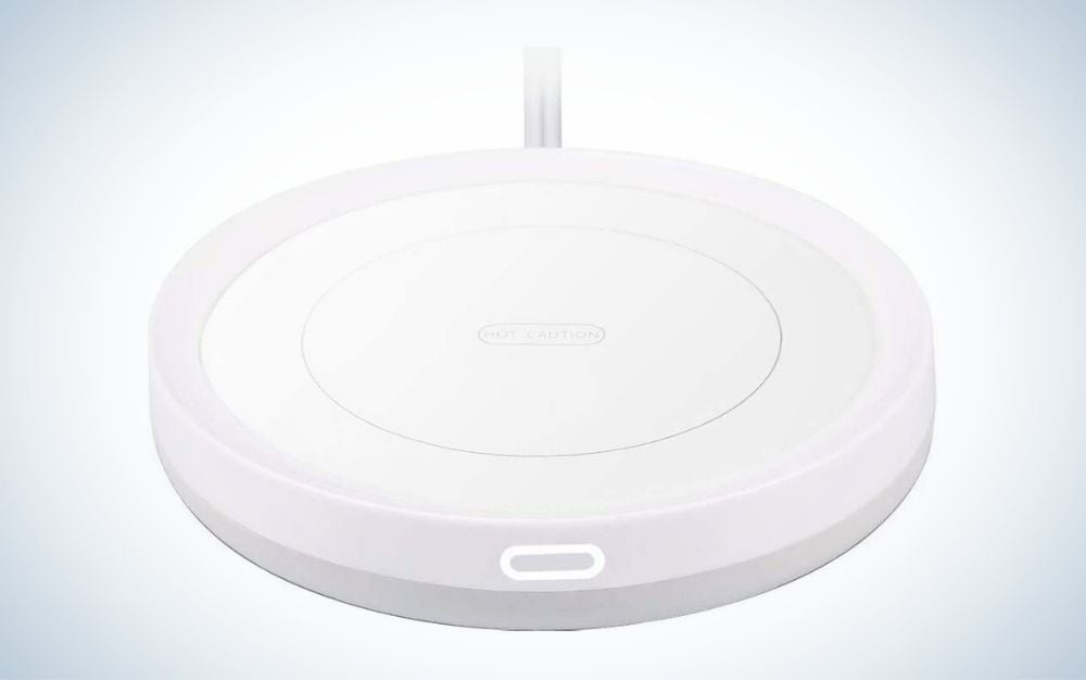 White candle warmer heating plate