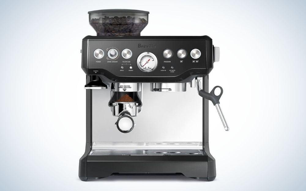 Black express coffee maker