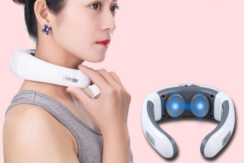Electric Multifunctional Cervical Massager