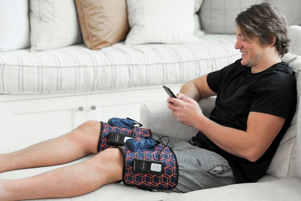 AirOsage™ Cordless & Portable Air Leg-Arm Massager