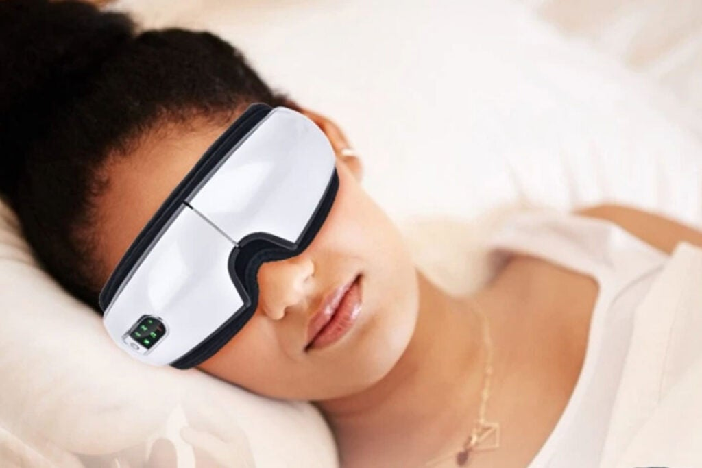 Smart Rechargeable Electric Hot Eye Massager