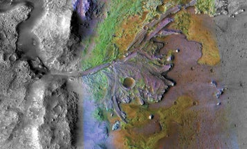Mars died billions of years ago, and its guts are still spilling into space