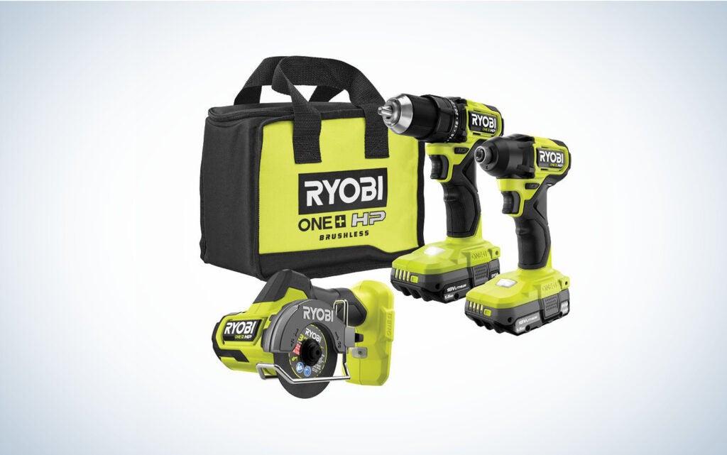 RYOBI Drill and Impact Driver Kit