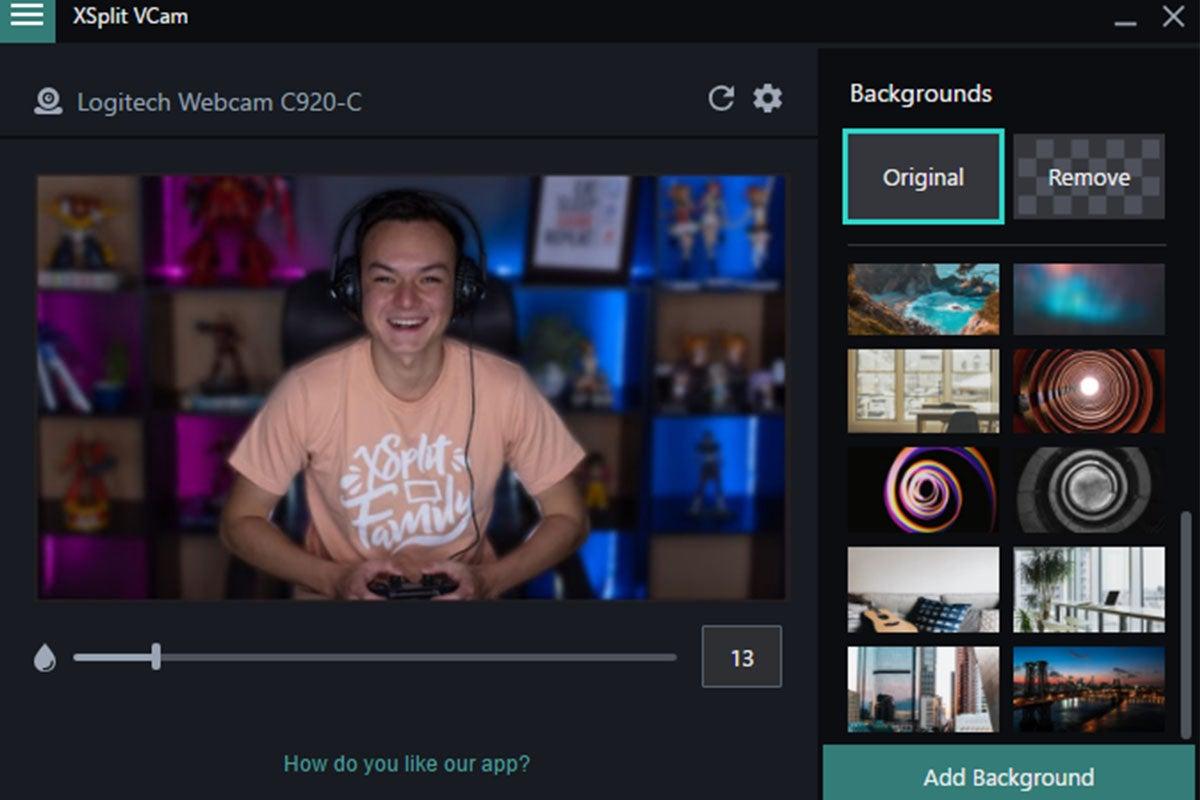 XSplit VCam: Lifetime Subscription (Windows)
