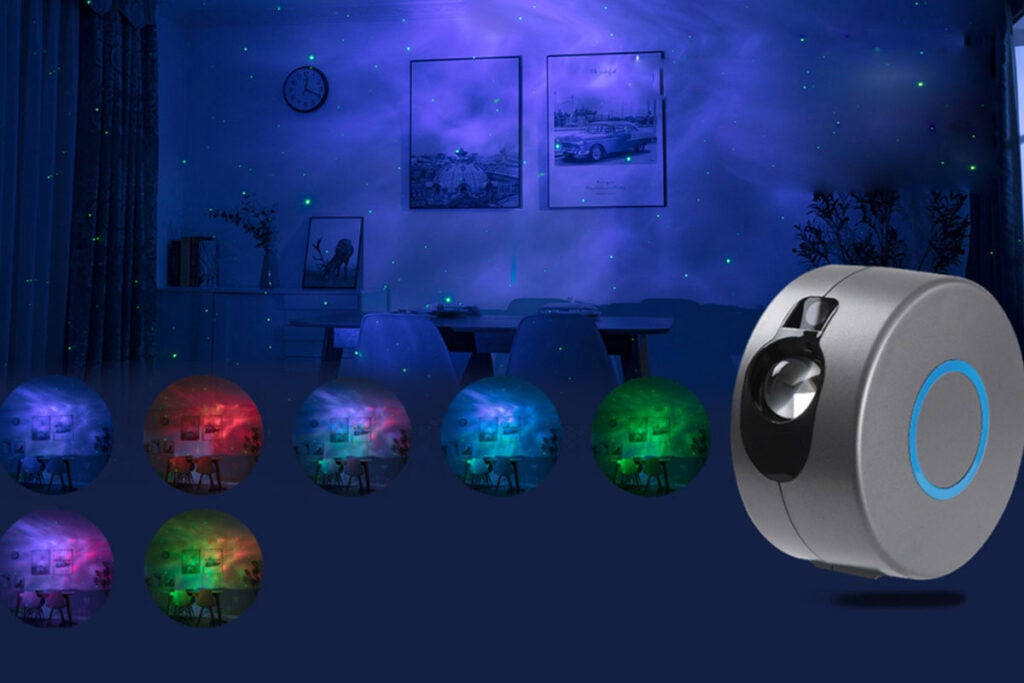 Star Galaxy Night Light Projector